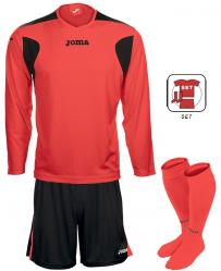 Joma LIGA FLUOR SET - Fluorescent Orange/Black