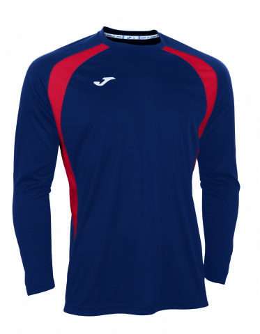 225a3e37a243 Champion III Navy/Red Long Sleeve Shirt