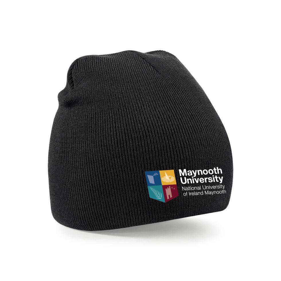 d0becf282 Maynooth University Rugby Beanie Hat - Black