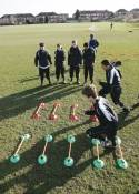 Speed agility ladder set
